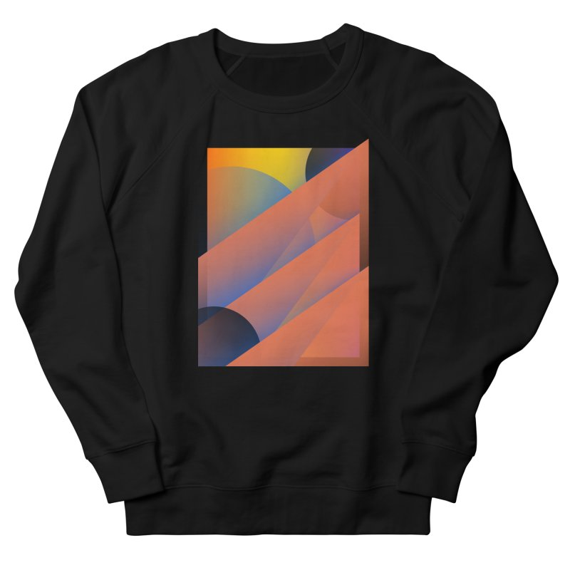 Lumen Vultus Women's French Terry Sweatshirt by His Artwork's Shop