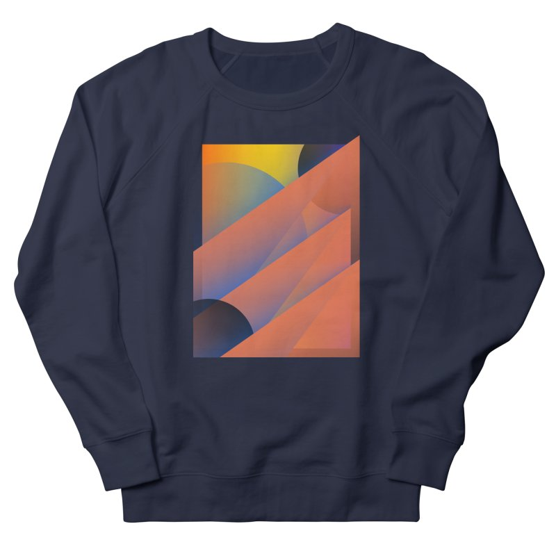 Lumen Vultus Men's French Terry Sweatshirt by His Artwork's Shop