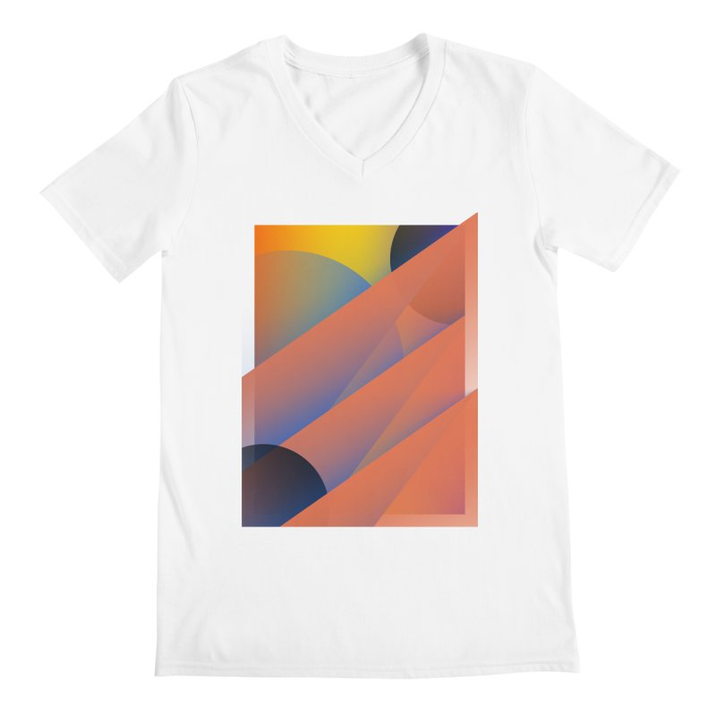 Lumen Vultus Men's V-Neck by His Artwork's Shop