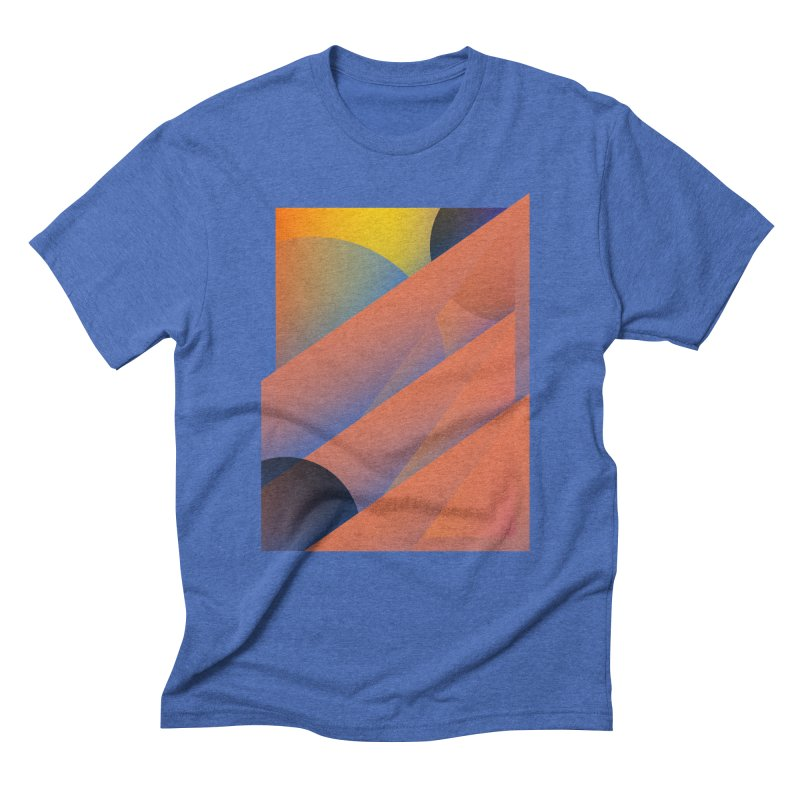 Lumen Vultus Men's Triblend T-shirt by His Artwork's Shop