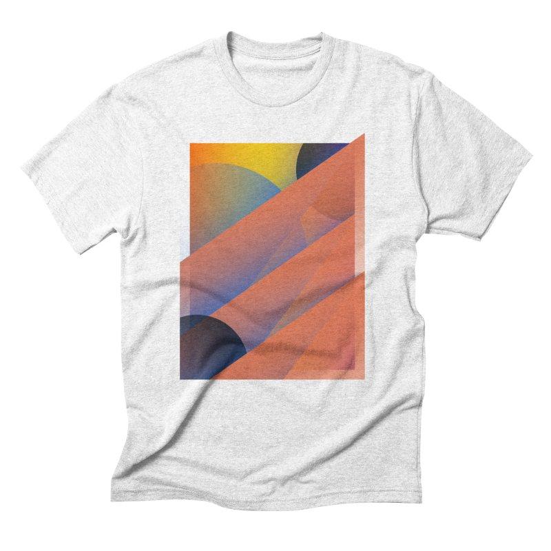 Lumen Vultus Men's Triblend T-shirt by His Artwork's Shop
