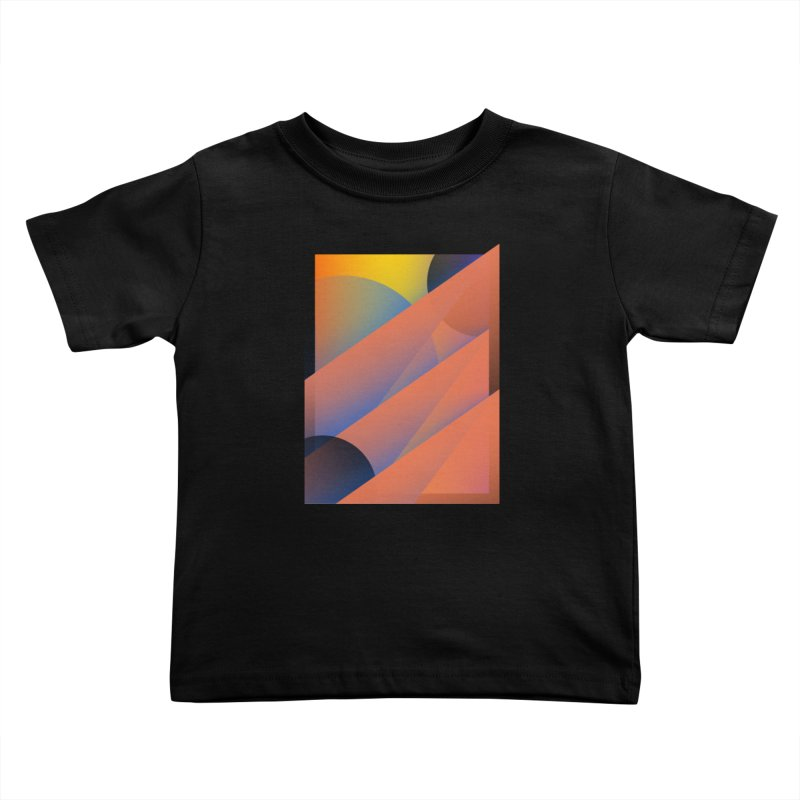 Lumen Vultus Kids Toddler T-Shirt by His Artwork's Shop