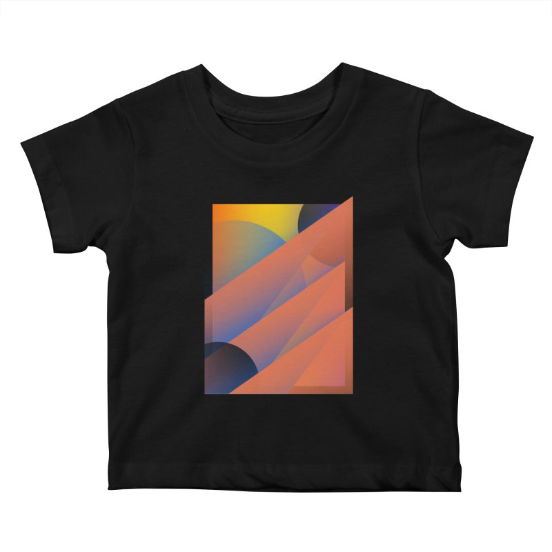 Lumen Vultus Kids Baby T-Shirt by His Artwork's Shop