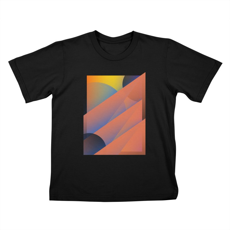 Lumen Vultus Kids T-Shirt by His Artwork's Shop