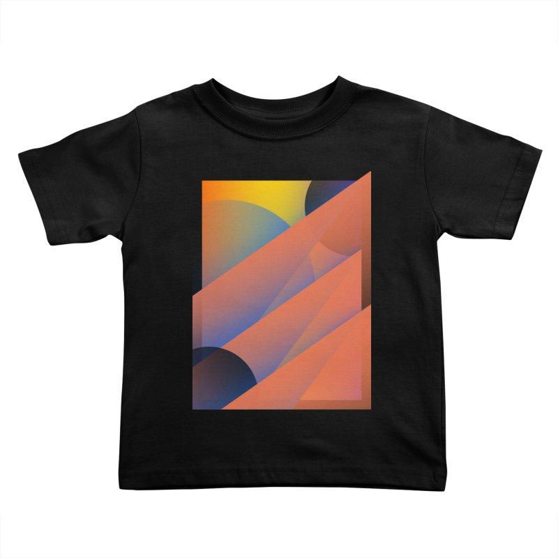 Lumen Vultus Kids Toddler T-Shirt by His Artwork's Shop