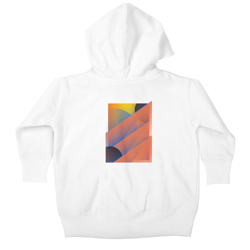 Lumen Vultus Kids Baby Zip-Up Hoody by His Artwork's Shop