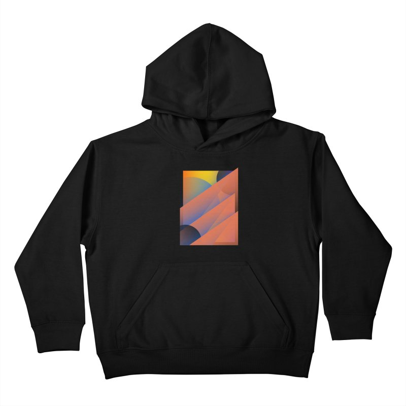 Lumen Vultus Kids Pullover Hoody by His Artwork's Shop
