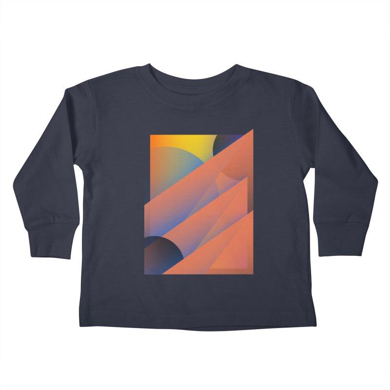 Lumen Vultus Kids Toddler Longsleeve T-Shirt by His Artwork's Shop