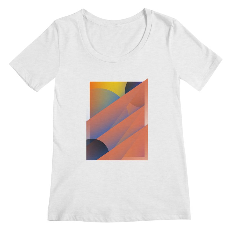 Lumen Vultus Women's Regular Scoop Neck by His Artwork's Shop