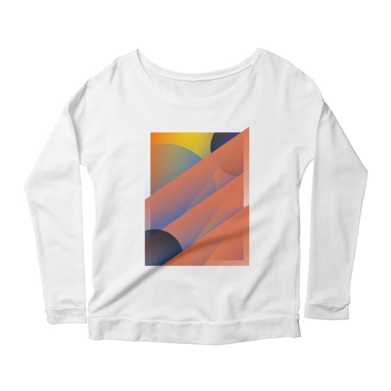 Lumen Vultus Women's Longsleeve Scoopneck  by His Artwork's Shop