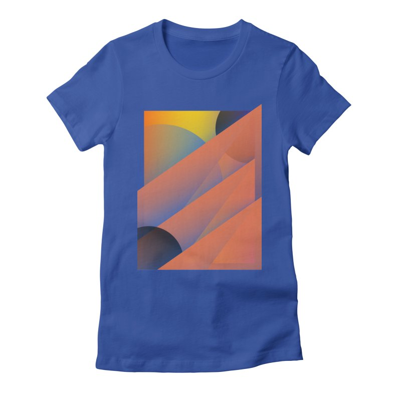 Lumen Vultus Women's Fitted T-Shirt by His Artwork's Shop