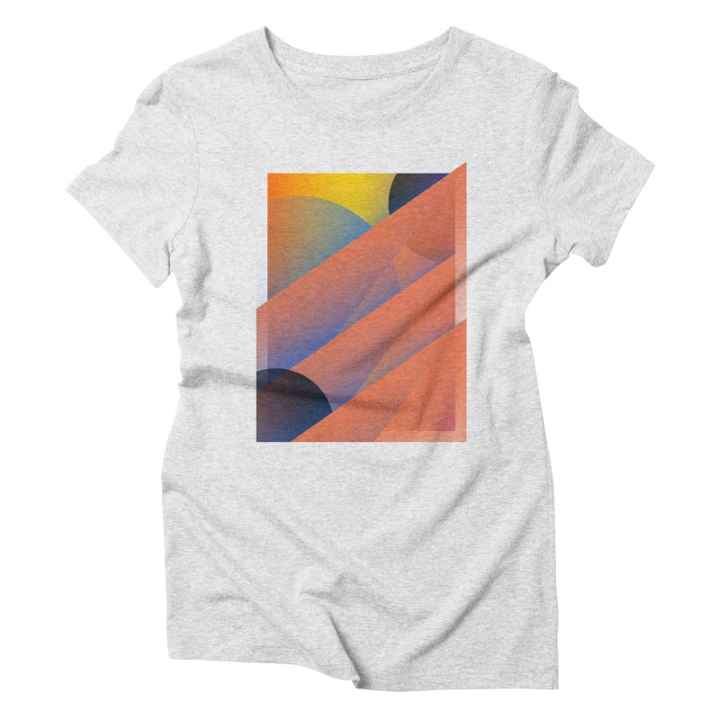 Lumen Vultus Women's Triblend T-Shirt by His Artwork's Shop