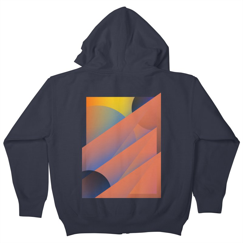 Lumen Vultus Kids Zip-Up Hoody by His Artwork's Shop