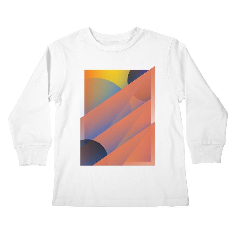 Lumen Vultus Kids Longsleeve T-Shirt by His Artwork's Shop
