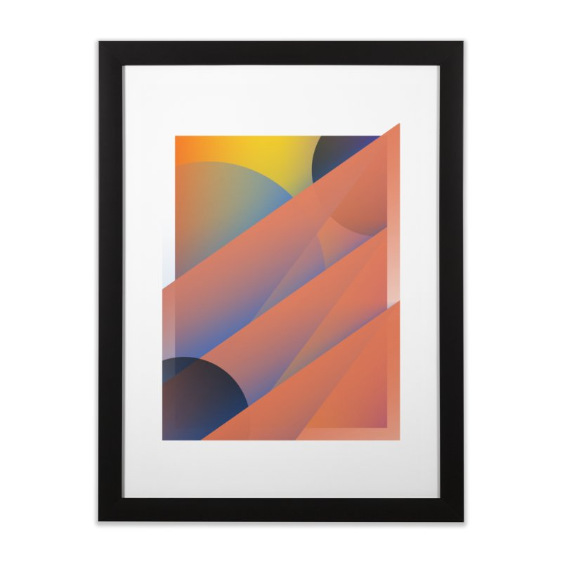 Lumen Vultus Home Framed Fine Art Print by His Artwork's Shop