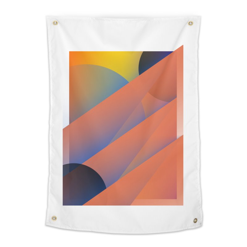 Lumen Vultus Home Tapestry by His Artwork's Shop