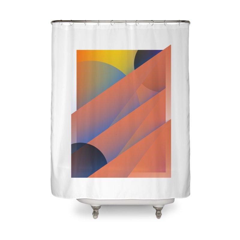 Lumen Vultus Home Shower Curtain by His Artwork's Shop