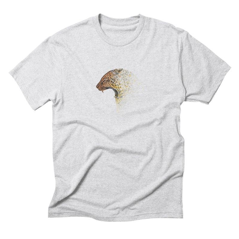 How the leopard got it's spots Men's T-Shirt by His Artwork's Shop