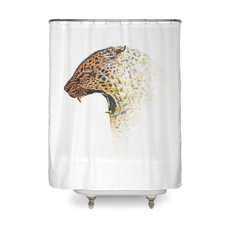 How the leopard got it's spots Home Shower Curtain by His Artwork's Shop