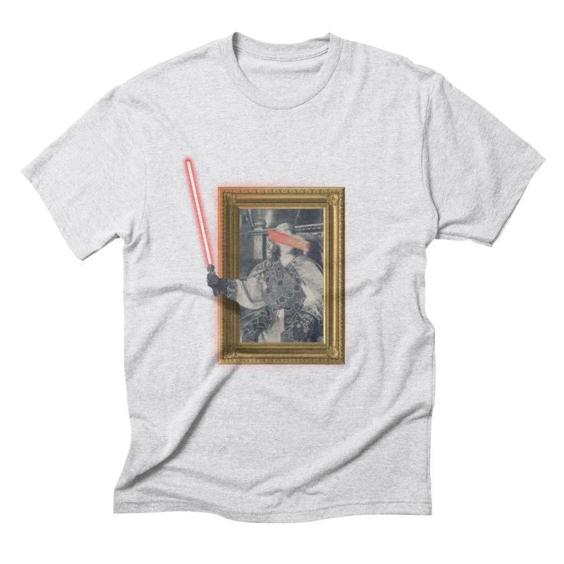 Camelot far far away Men's Triblend T-Shirt by His Artwork's Shop