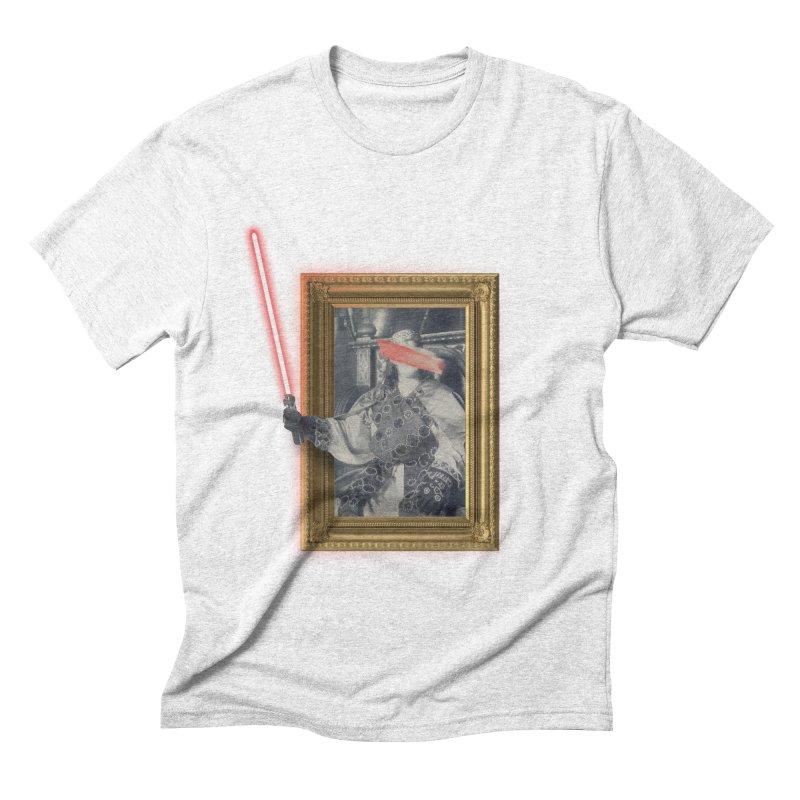 Camelot far far away Men's Triblend T-shirt by His Artwork's Shop