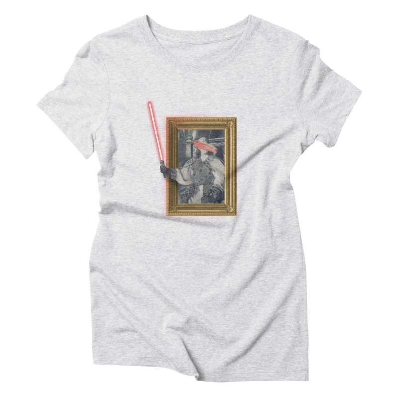 Camelot far far away Women's Triblend T-Shirt by His Artwork's Shop