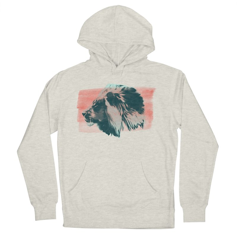 Leader Men's French Terry Pullover Hoody by His Artwork's Shop