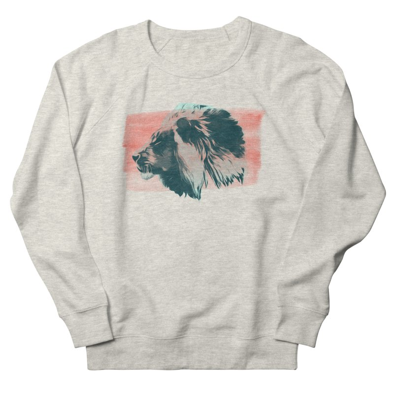Leader Men's French Terry Sweatshirt by His Artwork's Shop