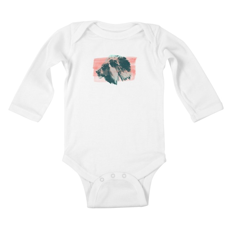 Leader Kids Baby Longsleeve Bodysuit by His Artwork's Shop
