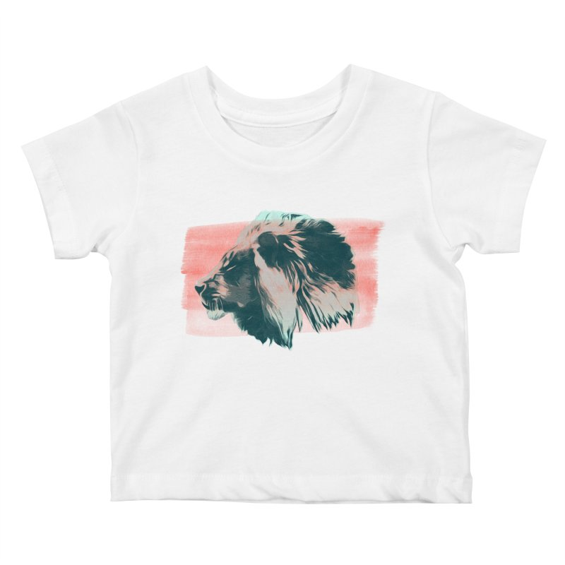 Leader Kids Baby T-Shirt by His Artwork's Shop