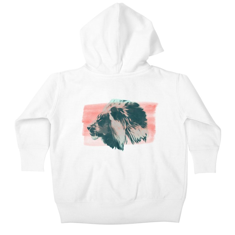 Leader Kids Baby Zip-Up Hoody by His Artwork's Shop