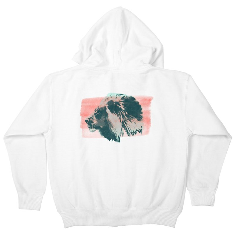 Leader Kids Zip-Up Hoody by His Artwork's Shop