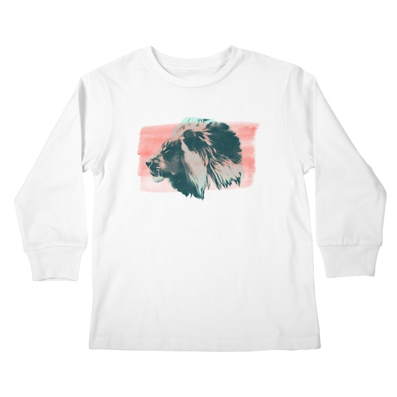 Leader Kids Longsleeve T-Shirt by His Artwork's Shop