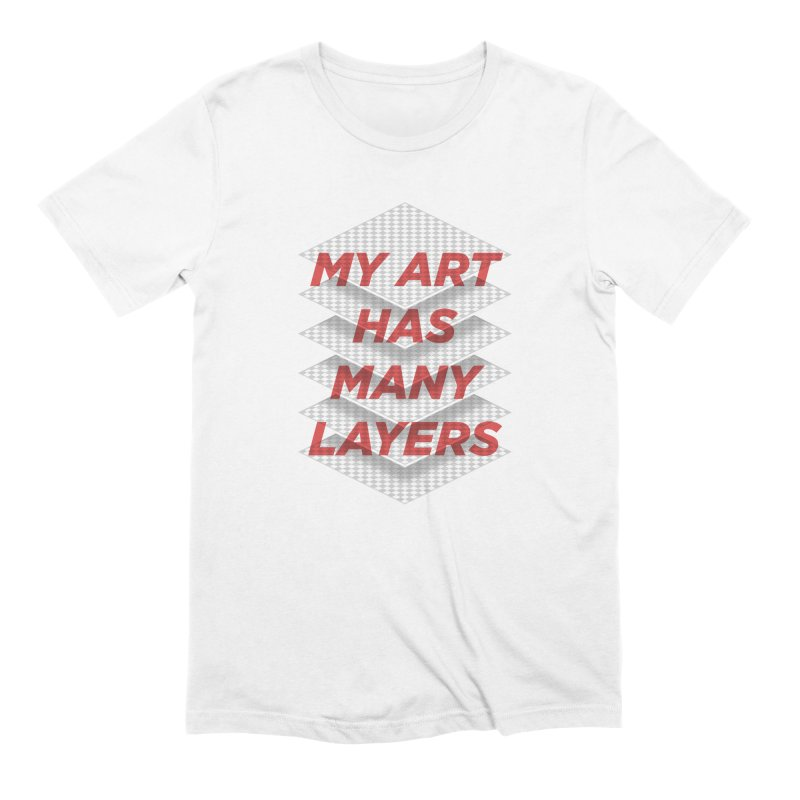 Art Snob Men's T-Shirt by His Artwork's Shop