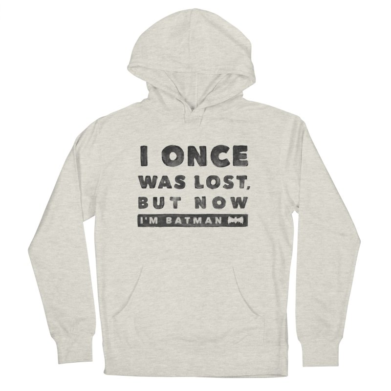 I once was lost... Men's Pullover Hoody by His Artwork's Shop