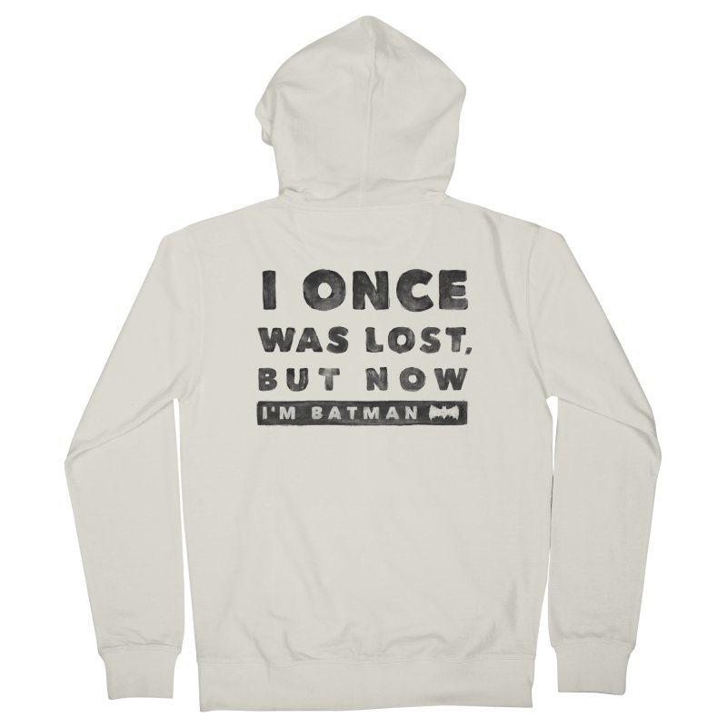 I once was lost... Women's Zip-Up Hoody by His Artwork's Shop
