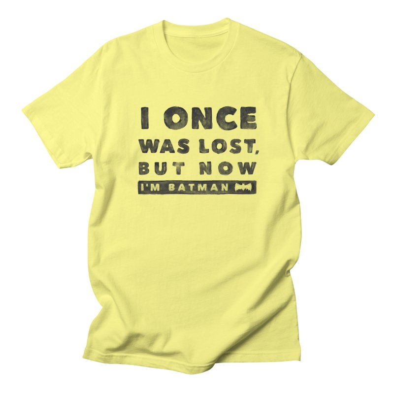 I once was lost... Men's T-Shirt by His Artwork's Shop