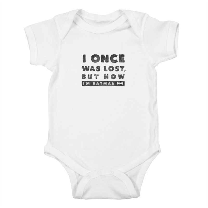 I once was lost... Kids Baby Bodysuit by His Artwork's Shop