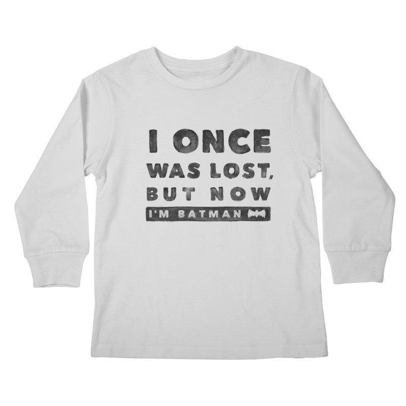 I once was lost... Kids Longsleeve T-Shirt by His Artwork's Shop