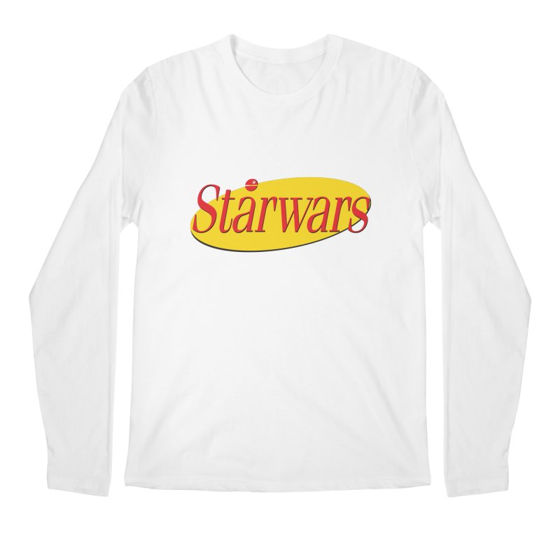 What's the deal with starwars? Men's Longsleeve T-Shirt by His Artwork's Shop