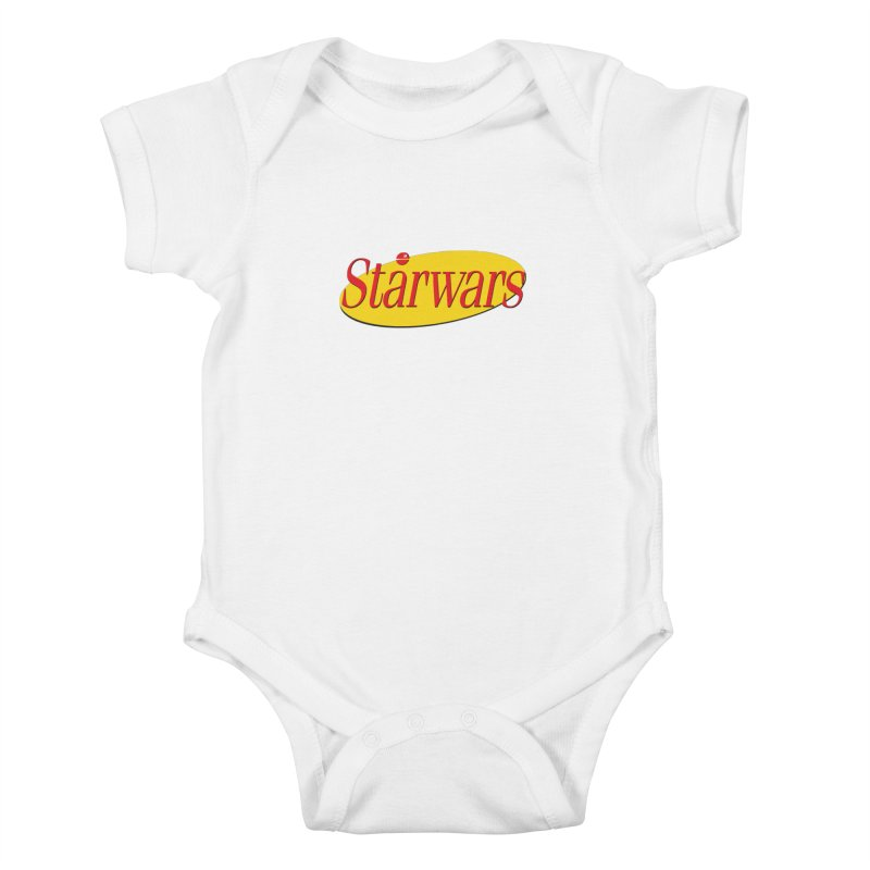 What's the deal with starwars? Kids Baby Bodysuit by His Artwork's Shop