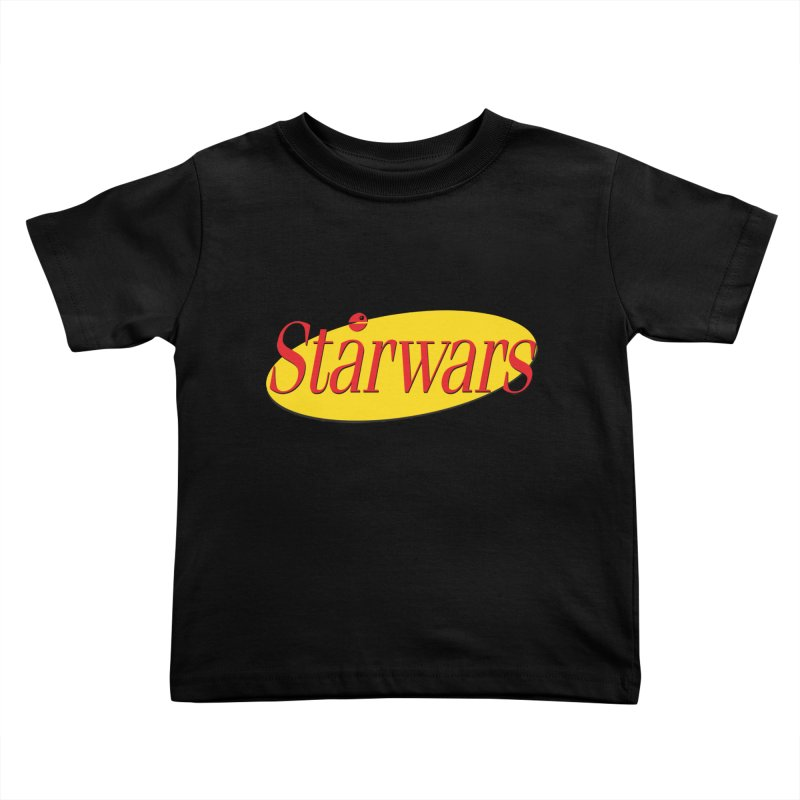 What's the deal with starwars? Kids Toddler T-Shirt by His Artwork's Shop