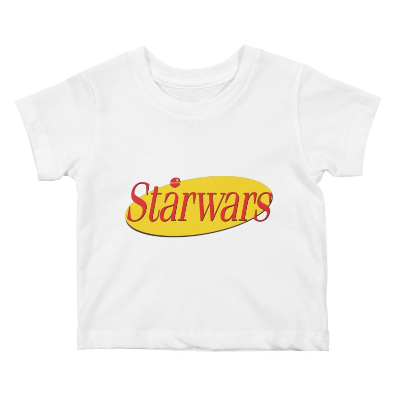 What's the deal with starwars? Kids Baby T-Shirt by His Artwork's Shop