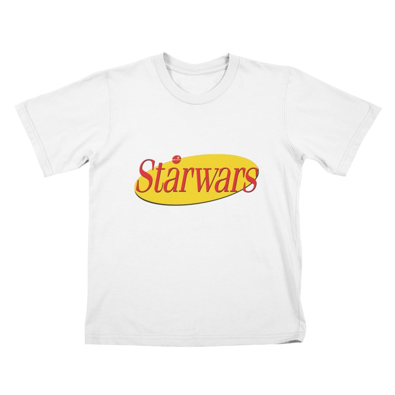 What's the deal with starwars? Kids T-Shirt by His Artwork's Shop
