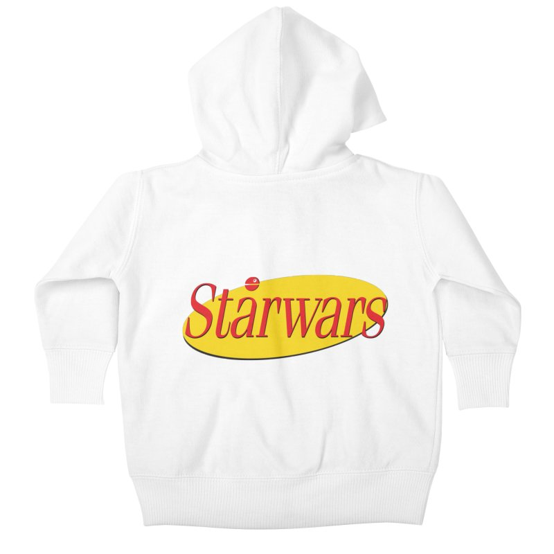 What's the deal with starwars? Kids Baby Zip-Up Hoody by His Artwork's Shop