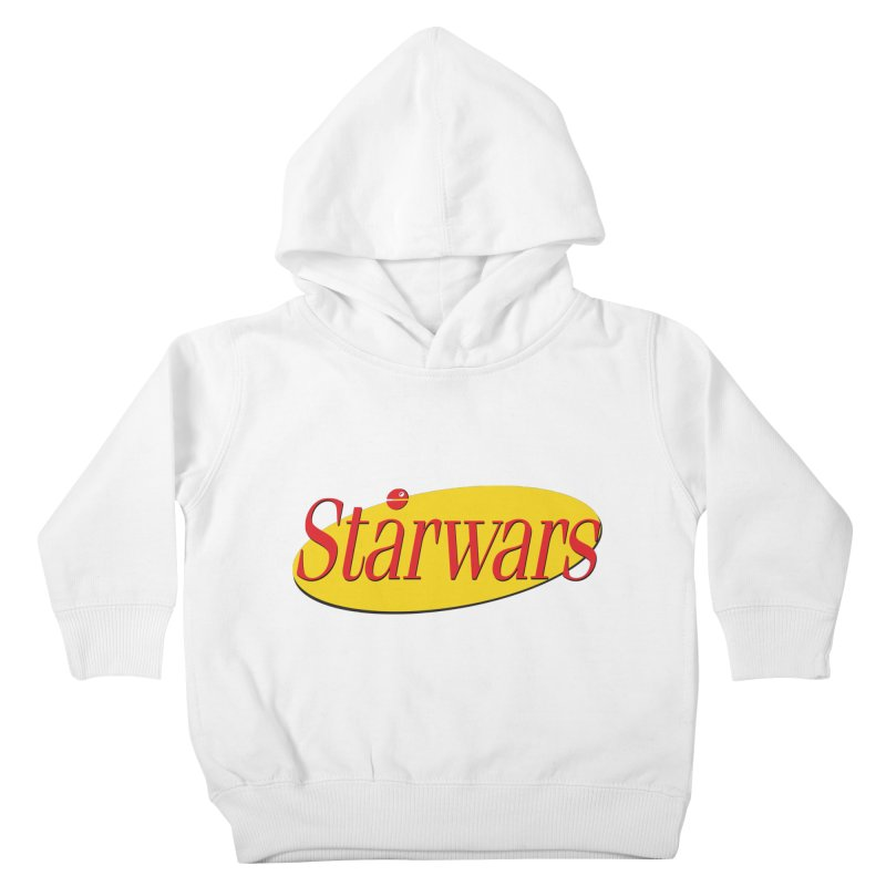 What's the deal with starwars? Kids Toddler Pullover Hoody by His Artwork's Shop