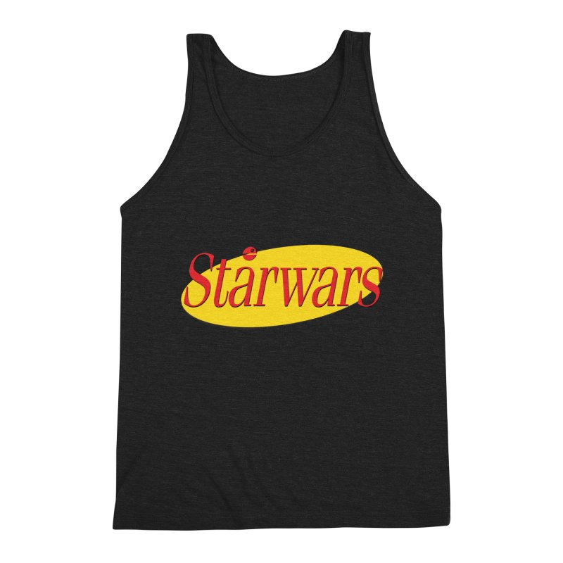 What's the deal with starwars? Men's Triblend Tank by His Artwork's Shop