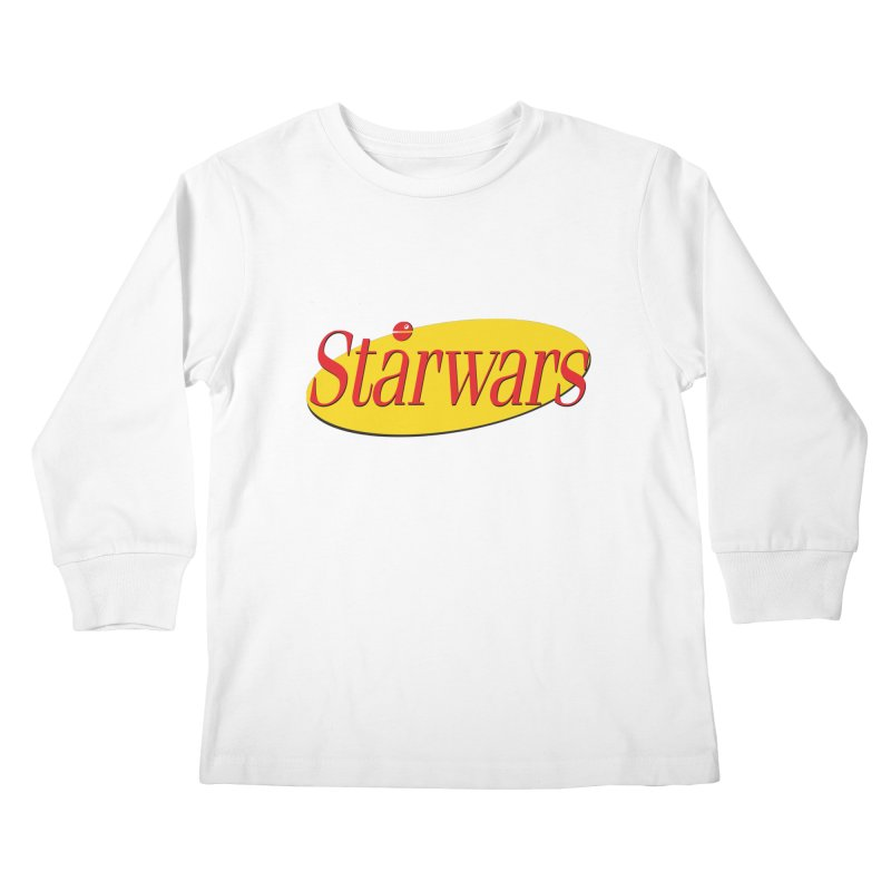 What's the deal with starwars? Kids Longsleeve T-Shirt by His Artwork's Shop