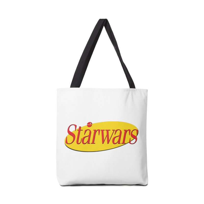 What's the deal with starwars? Accessories Tote Bag Bag by His Artwork's Shop