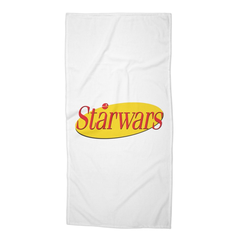 What's the deal with starwars? Accessories Beach Towel by His Artwork's Shop